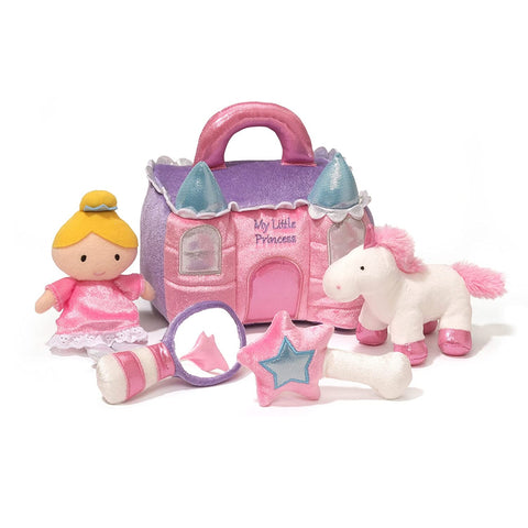 Baby GUND Princess Castle Stuffed Plush Playset, 8""