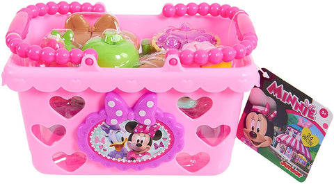 Minnie Mouse JPL88900 Minnie Bow Tique Bowtastic Shopping Basket Set, Pink