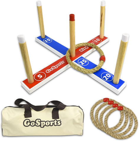 Premium Wooden Ring Toss