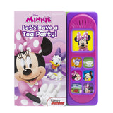 Disney Minnie Mouse - Let's Have a Tea Party! Little Sound Book - PI Kids (Play-A-Song)