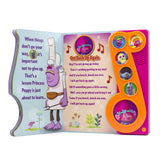 DreamWorks Trolls - Get Back Up Again Little Music Note Sound Book - Play-a-Song - PI Kids