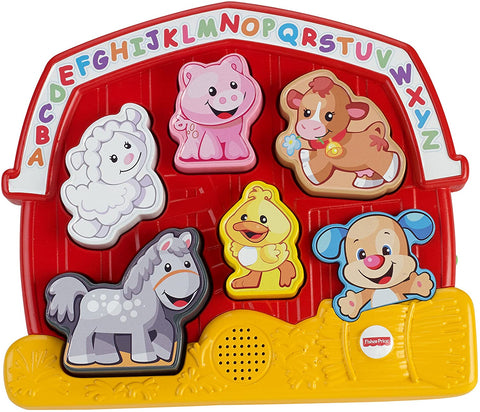 Fisher-Price Laugh & Learn Farm Animal Puzzle