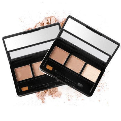 3 Color Eyebrow Powder