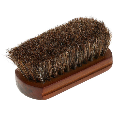 Men's Beard Brush Natural Horse Hair Mustache Shaving Brush Facial Hair Brush Wooden Handle
