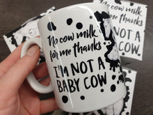 NEW 'I'm Not a Baby Cow' Vegan Mug and Gift Box