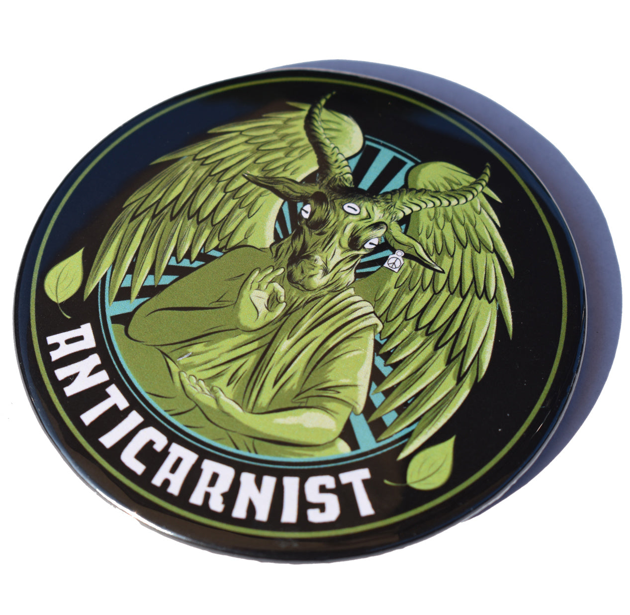 Anticarnist Pocket Mirror