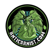 Anticarnist Vinyl Logo Sticker