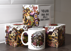 'Vegan Till The Cows Come Home' Mug and Gift Box