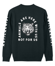 'Here With Us' Organic Recycled Sweatshirt