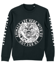 NEW 'Here With Us' Organic Recycled Sweatshirt