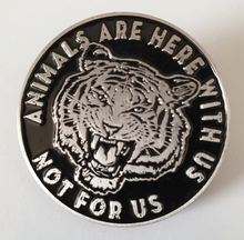 Here With Us Soft Enamel Pin