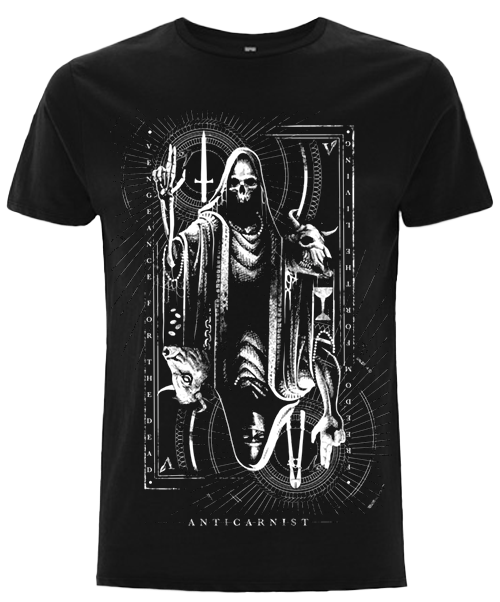 NEW 'The Magician' Organic Black Vegan T-Shirt