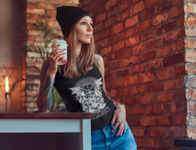 'Exploiting Animals Causes Pandemics' Organic Black Vegan Women's Tank