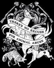 NEW 'No Excuse' Organic Black Vegan T-Shirt