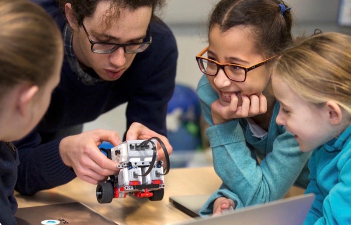 Getting kids coding with LEGO