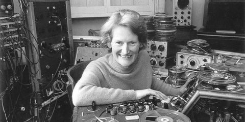 Daphne Oram is the inventor of Oramics, a form of sound synthesis