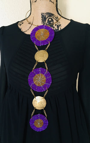 Purple Royalty Nzuri Necklaces