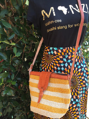 Yellow Kyondo CrossBody  Bag