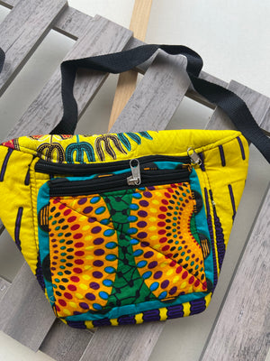 Color Ankara Fanny Pack