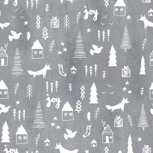 Fabric - Winter Woodland