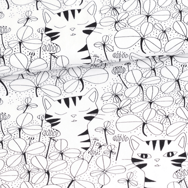 Monochrome Cats | KJF Clothing