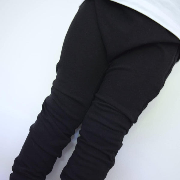 Basic Leggings - Black 3 | KJF Clothing