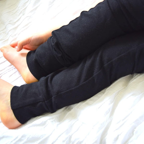 Basic Leggings - Black 1 | KJF Clothing