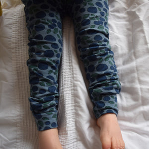 Leggings - Blueberries 1 | KJF Clothing