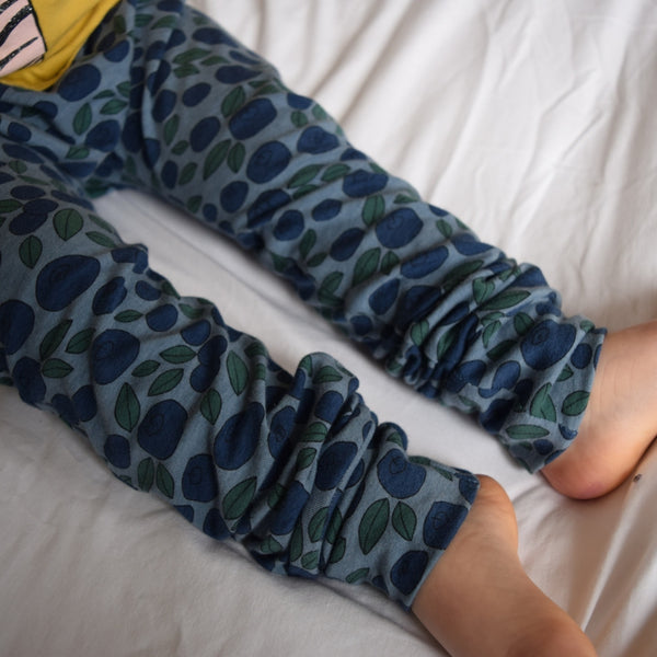 Leggings - Blueberries 4 | KJF Clothing