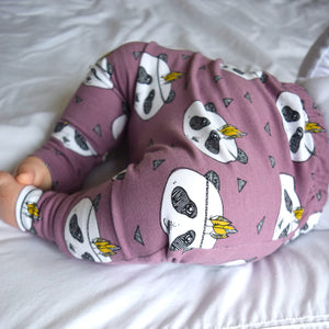 Leggings - Lavender Pandas 1 | KJF Clothing