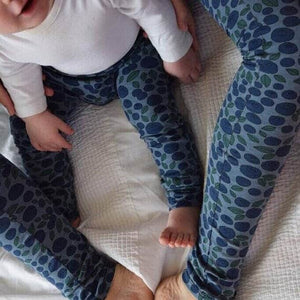 Grown-up Leggings - Blueberries 1 | KJF Clothing
