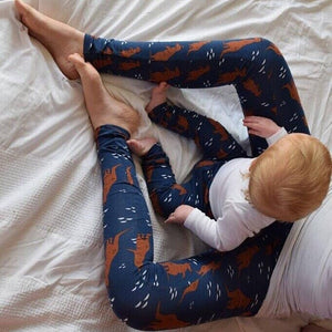 Grown-up Leggings - Kangaroos 1 | KJF Clothing