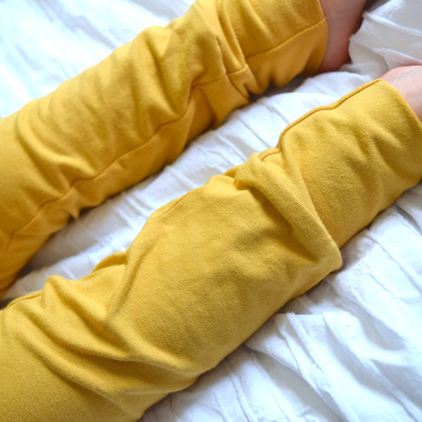 Basic Leggings - Mustard 2 | KJF Clothing
