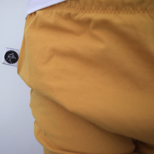 Basic Leggings - Mustard 3 | KJF Clothing