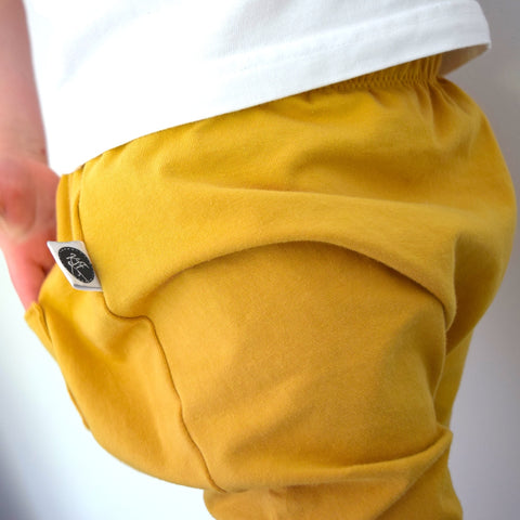 Basic Leggings - Mustard 1 | KJF Clothing