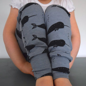 Leggings - Narwhal 4 | KJF Clothing