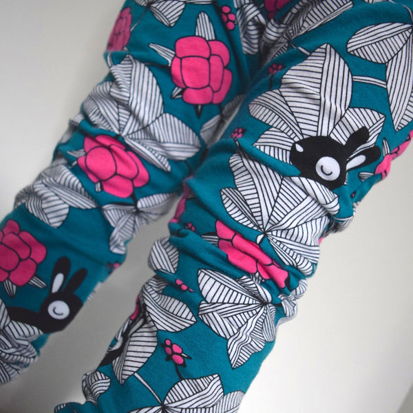 Leggings - Spring Bunnies 3 | KJF Clothing