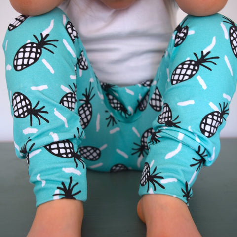 Leggings - Pineapples 1 | KJF Clothing