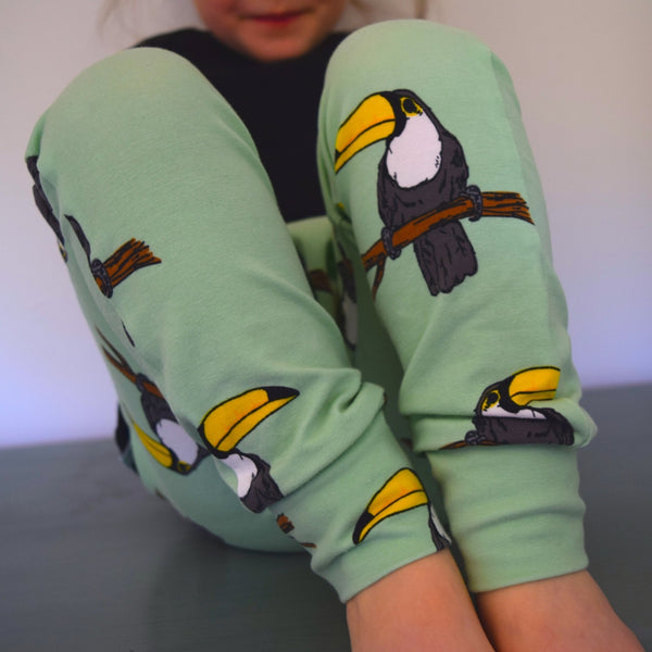 Leggings - Toucans 1 | KJF Clothing