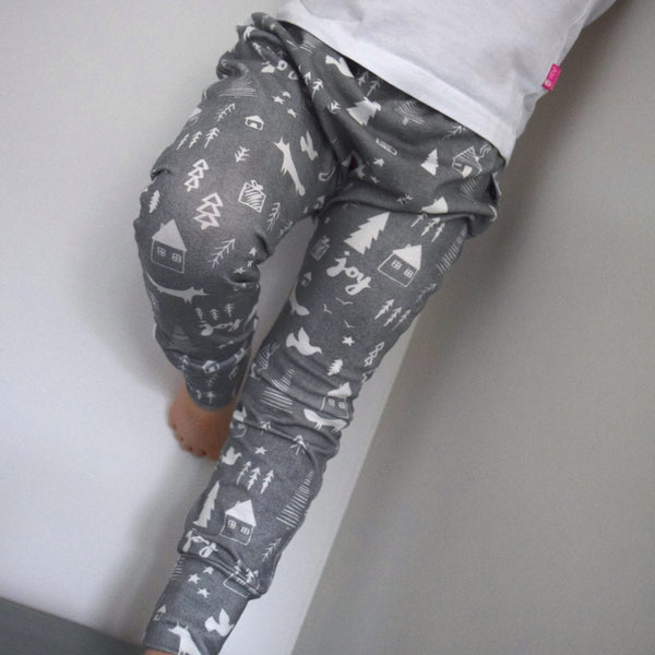 Leggings - Winter Woodland 3 | KJF Clothing