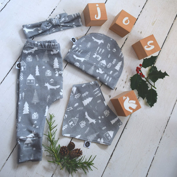 Leggings - Winter Woodland 1 | KJF Clothing