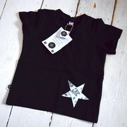 Monochrome Jungle Star | KJF Clothing