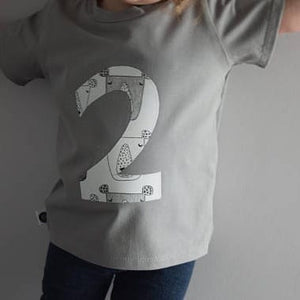 Birthday T-Shirt - Grey 1 | KJF Clothing