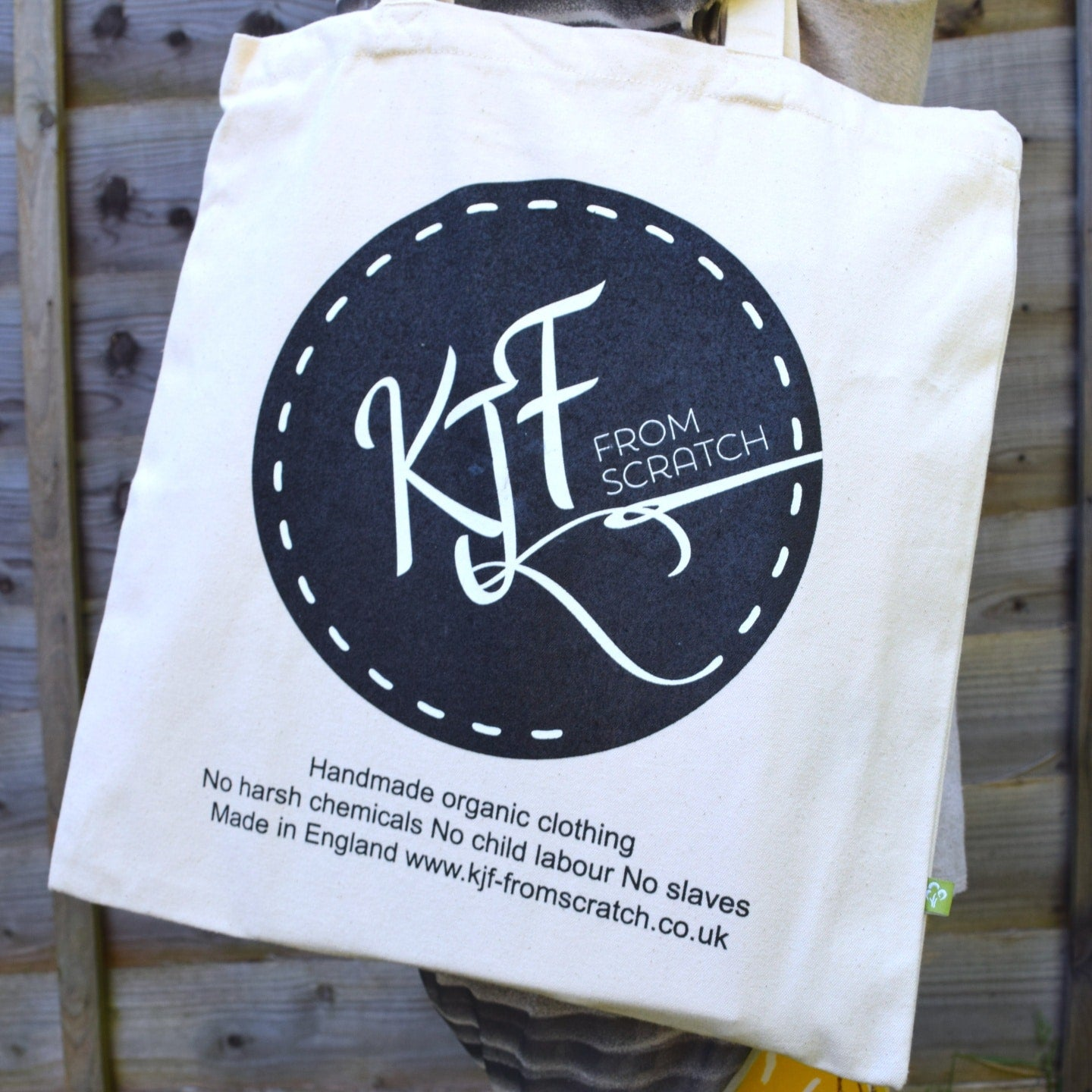 Organic Cotton Tote Bag 1 | KJF Clothing
