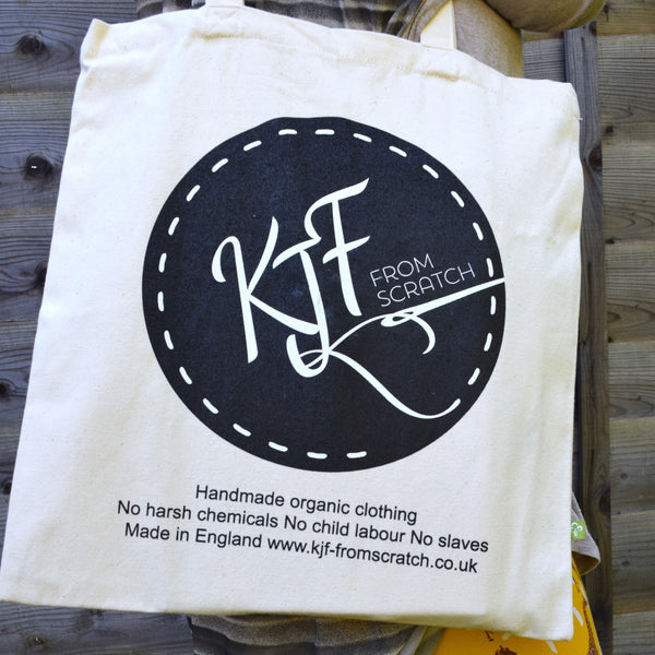 Organic Cotton Tote Bag 2 | KJF Clothing