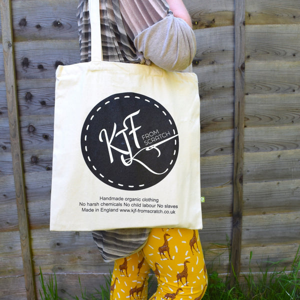 Organic Cotton Tote Bag 3 | KJF Clothing