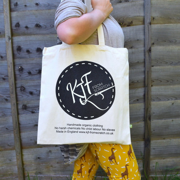 Organic Cotton Tote Bag 4 | KJF Clothing