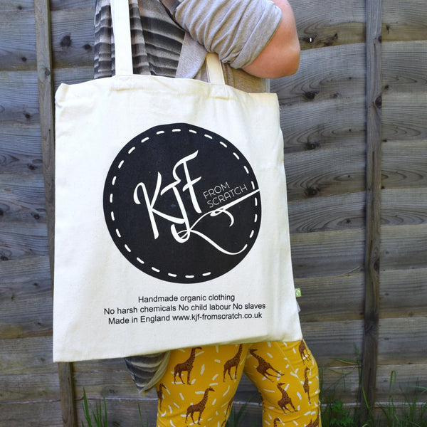 Organic Cotton Tote Bag 5 | KJF Clothing