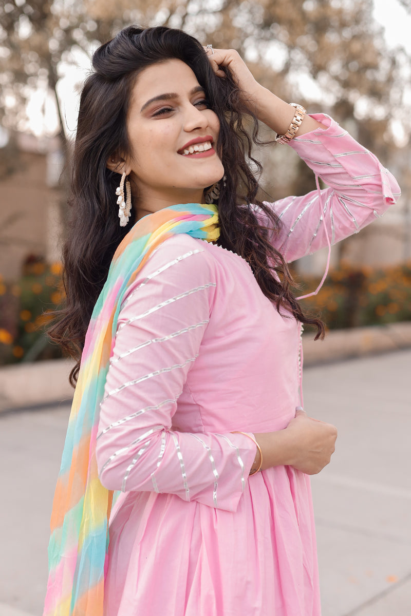 Shabnam Pink Suit Set