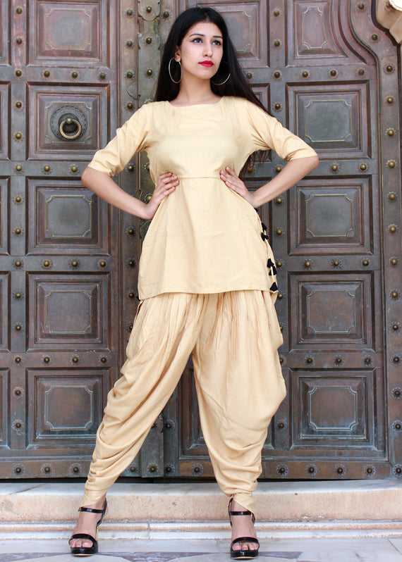 Exclusive Dhoti Style Pant With Top
